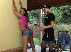Marcelinha Moraes fudendo com travesti